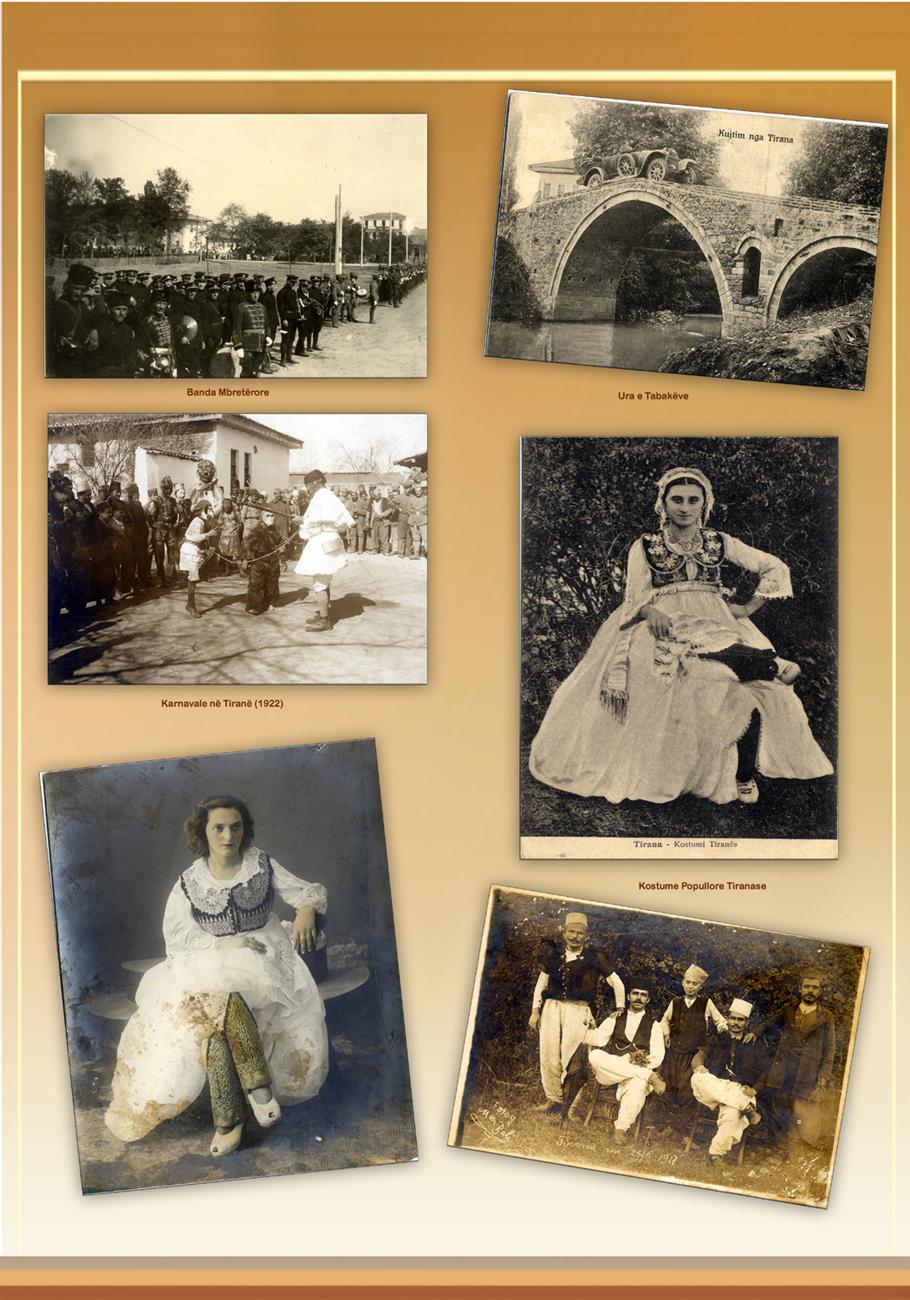 Tirana e vjeter, burra, gra, karnavale