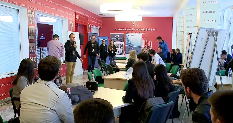 """Screenshot_2019-11-11 """"Selection Bootcamp"""", aktiviteti inovativ në Universitetitn """"Luarasi"""" nga Uplift Albania - YouTube"""