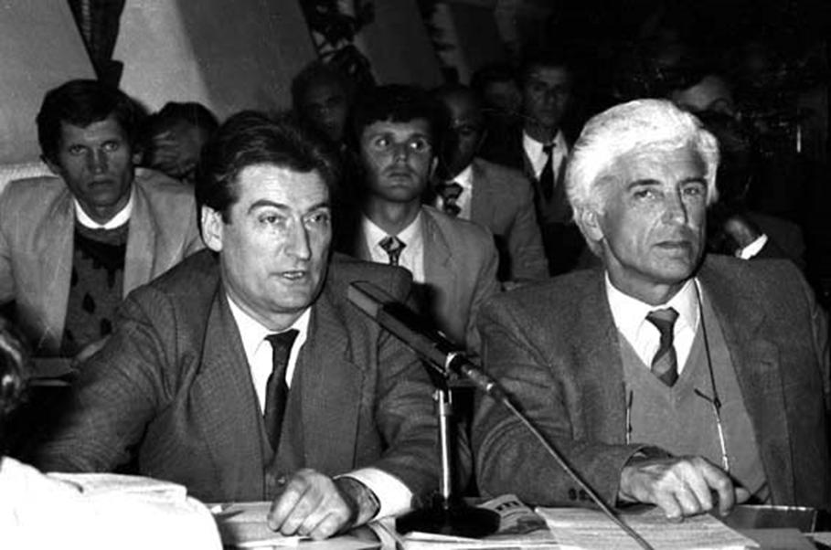 NERITAN CEKA KRYETAR I GRUPIT PARLAMENTAR TE PD 1991