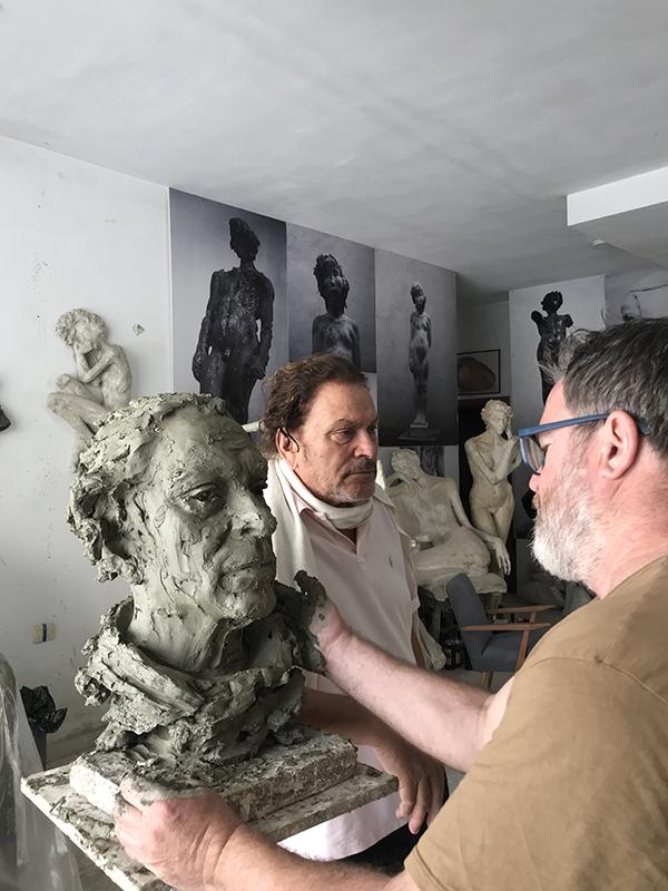 Arben Bajo dhe Timo Flloko (1)