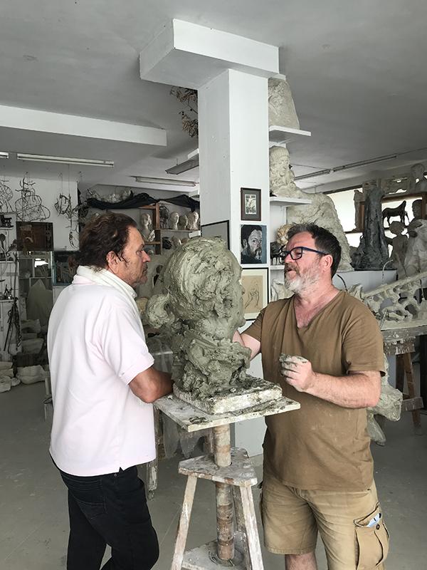 Arben Bajo dhe Timo Flloko (2)